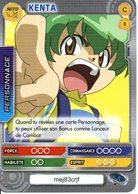 BEYBLADE Battle Card Collection KENTA N°8 - Trading Cards