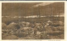 Cpa 80 LE BOIS DE LA VACHE - WW1 , BATAILLE DE LA SOMME , GUERRE 14 , DESSIN DE F.FLAMENG AOUT 1917 - Guerre 1914-18