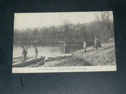 COYE LA FORET /  Arrondissement Senlis  1910  CURAGE ETANG     EDITEUR - Autres Communes
