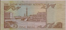 QATAR P.  7 1 R 1980 VF - Qatar