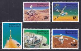 HAUTE-VOLTA N°  388 à 390, AERIENS 208 & 209 ** MNH Neufs Sans Charnière, TB (D7936) Cosmos, Viking Sur Mars - 1976 - Haute-Volta (1958-1984)