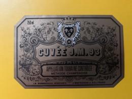9272 - Cuvée J.M. 93 Touraine Monmousseau - Etiquettes