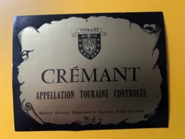 9276 - Crémant De Touraine - Etiquettes