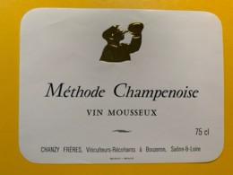 9284 - Vin Mousseux Méthode Champenoise Chanzy Frères Bouzeron - Etiquettes
