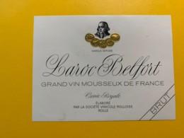 9289 - Vin Mousseux Laroc Belfort - Etiquettes