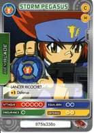 BEYBLADE Battle Card Collection STORM PEGASUS N°30 - Trading Cards