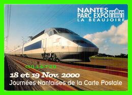 ADVERTISING, PUBLICITÉ - NANTES PARC EXPO, LA BEAUJOIRE EN 2000 - TGV ATLANTIQUE - - Publicité