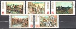 Bulgaria 1971 - Paintings - Mi.2075-79 - Used Gestempelt - Gebraucht