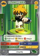 BEYBLADE Battle Card Collection FLAME LIBRA N°57 - Trading Cards