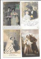 10980 - Lot De 200 CPA Fantaisies, Couples, - 100 - 499 Postcards