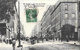 Brest - La Rue De Paris Coin De La Rue Victor Hugo - Brest