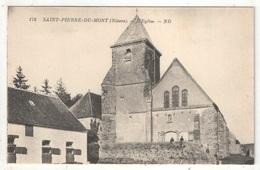58 - SAINT-PIERRE-DU-MONT - L'Eglise - ND 170 - France