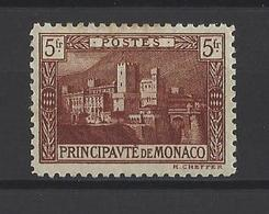 MONACO. YT  N° 64 Neuf *  1920 - Monaco