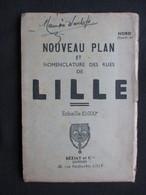 VP PLAN (V1823) LILLE Echelle 1/10.000e (2 Scans) Béziat Et Cie - Geographical Maps