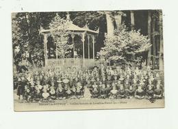 28 - NOGENT LE ROTROU - Colonie Scolaire De Levallois Perret Les Filles En 1911 Beau Plan Animé Leger Pli Coin Sinon Bon - Nogent Le Rotrou