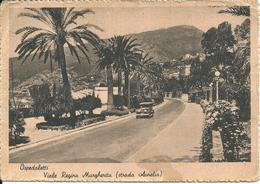 OSPEDALETTI - VIALE REGINA MARGHERITA - LIGURIA 1945 With Military Message - San Remo