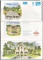 Gran Bretagna/Great Britain: Intero, Stationery, Entiers, Giardino Inglese, English Garden, Jardin Anglais - Vegetazione