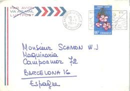 CARTA 1974 - Andorra Francesa