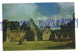 Pérou. Machupicchu. Place Sacrée Et Temple Des Trois Fenêtres. Foto Corbacho - Pérou