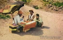 Formosa Taiwan, Life Of A Street Vendor, Street Writer (1920s) Postcard - Taiwan