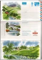 Gran Bretagna/Great Britain: Intero, Stationery, Entiers, Ponte, Pont, Bridge, Fiume, River, Rivière - Ponti