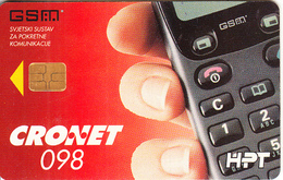 CROATIA - Mobile Phone, Cronet 098 GSM, 05/96, Used - Telephones