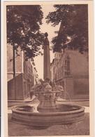 CPA - 10. AIX EN PROVENCE - Fontaine Des Quatre Dauphins - Aix En Provence