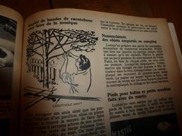 1953 MÉCANIQUE POPULAIRE:Arbre A Musique;Saumon Rouge;Faire Un Cheval à Bascule;Pas Faire Le Malin Avec Un Douanier;etc - Sciences & Technique