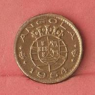 ANGOLA 50 CENTAVOS 1954 -    KM# 75 - (Nº10843) - Angola