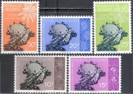3099 Post Mail UPU Flora Fruits 1960 Guinea 5v Set MNH ** - Post