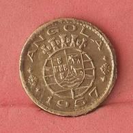 ANGOLA 50 CENTAVOS 1957 -    KM# 75 - (Nº10844) - Angola