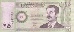 Iraq 25 Dinars, P-86 (2001) - UNC - Irak