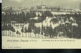 """""""Paysages D'hiver""""  Panorama Pris De La Route De Florenville - Neufchâteau"""