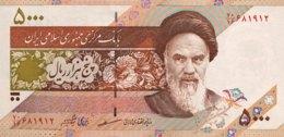 Iran 5.000 Rials, P-145e  - UNC - Signature 30 - Iran