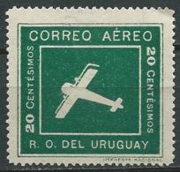 Uruguay  -  Aérien   -  Yvert N° 6 *     Abc 28313 - Uruguay