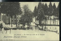 """""""Paysages D'hiver""""  La Vierre Au Sortir De La Cascade - Neufchâteau"""