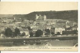 55 - SAINT MIHIEL / QUARTIER DE LA HALLE - L'EGLISE SAINT MICHEL - L'EGLISE SAINT ETIENNE - Saint Mihiel