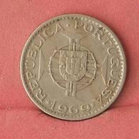 ANGOLA 2,5 ESCUDOS 1969 -    KM# 77 - (Nº10848) - Angola