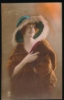 Tres Jolie Femme Mode  Fourrure Chapeau - Mode
