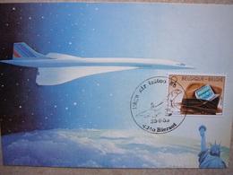 Avion / Airplane / AIR FRANCE / Concorde / Vol Paris - Bierset / Liège Air Tatoo - 1946-....: Ere Moderne