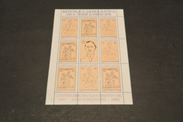 M4642 Sheet  MNH S.Tome E. Principe   - 1982 -  Picasso - Picasso