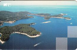 CROATIA(chip) - MLJET National Park, 06/99, Used - Paysages