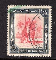 """LIBYA - CYRENAICA 1950 - 100m """"Senussi Warrior - Camel"""" - Libya"""