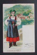 Cartolina Un Saluto Da Fobello - Viaggiata - Vercelli
