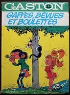 BD GASTON - 11 - Gaffes, Bévues Et Boulettes - Rééd. 1980 - Gaston