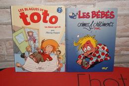 Lot Bd TOTO Et LES BEBES - Paquete De Libros
