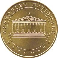 75007 PARIS ASSEMBLÉE NATIONALE MÉDAILLE MONNAIE DE PARIS 2019 JETON MEDALS COINS TOKENS - 2019