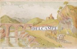 Viaduc Du VECCHIO - La Diligence, Carte Postale Transparente ( 20 ) - Autres Communes