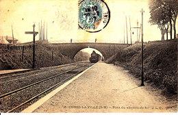 77 . Seine Et Marne .  Combs La Ville .  Pont Du Chemin De Fer . - Combs La Ville