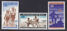 MALI AERIENS N°  280 à 282 ** MNH Neufs Sans Charnière, TB (D7944) Scouts, Jamboree Africain Au Nigéria - 1976 - Mali (1959-...)